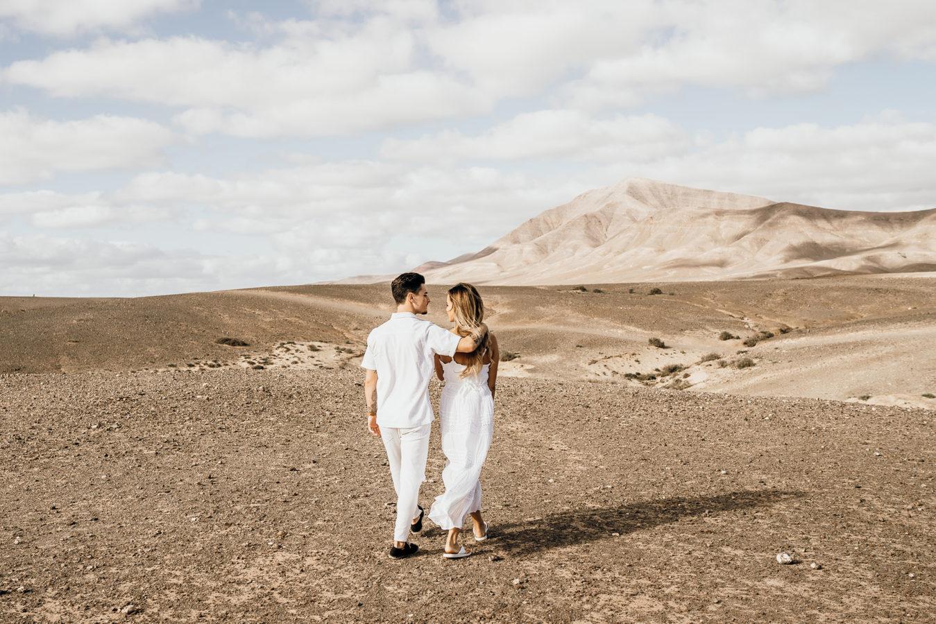 Fotoshooting auf Lanzarote Playa Papagayo